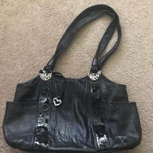 Brighton leather hobo bag